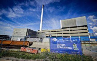 ARC LH Hockerup Nedrivning Amager forbrændning